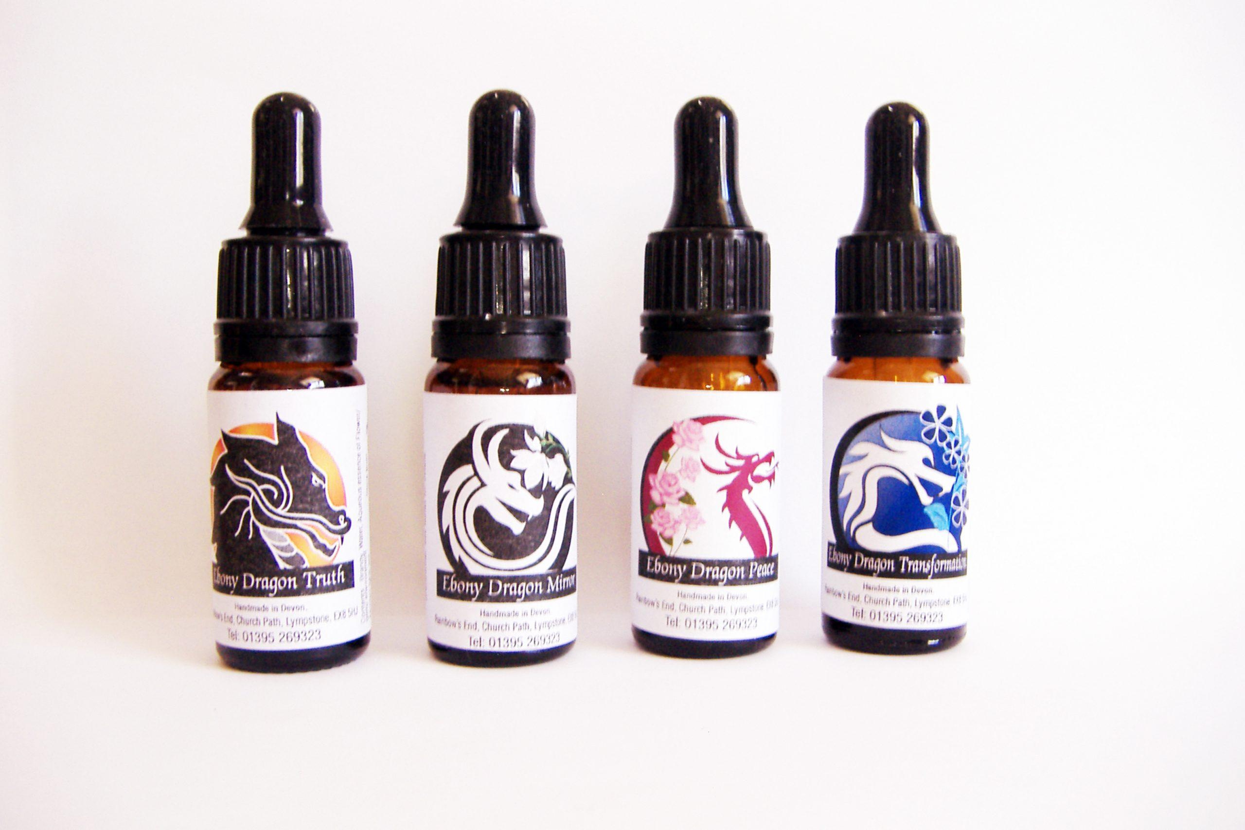 Ebony dragon essences
